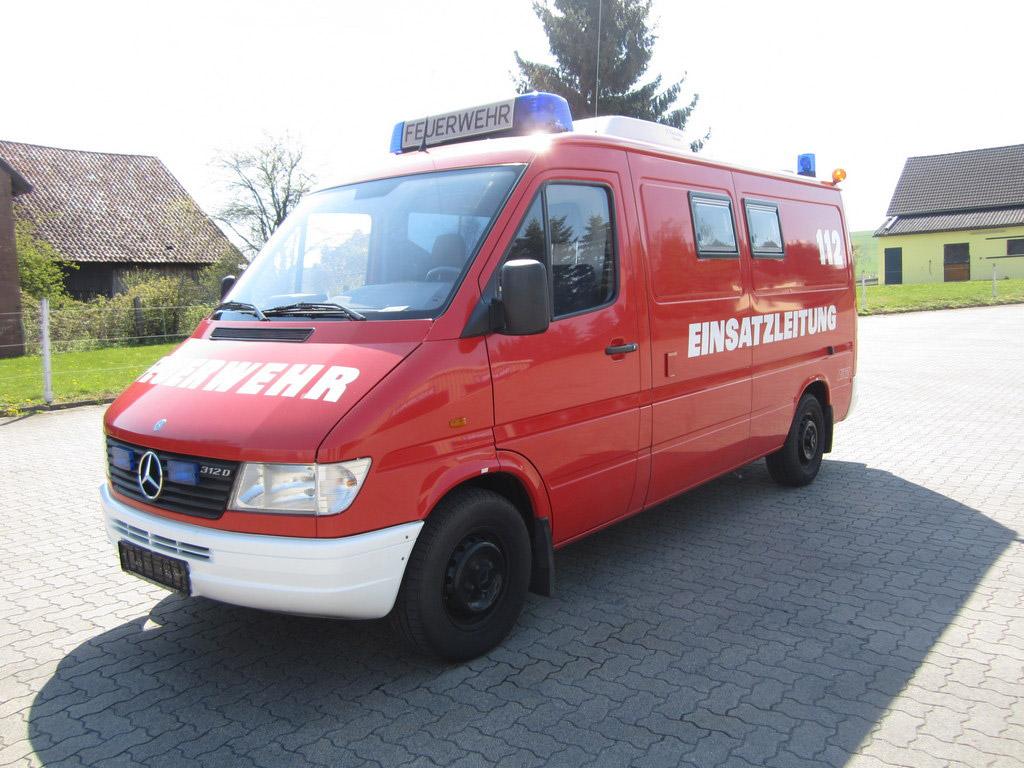 SPOERER Spezialfahrzeuge Feuerwehr Mehrzweckfahrzeug